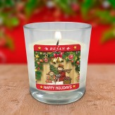 "Lumanare parfumata din soia ""Happy Holidays"""